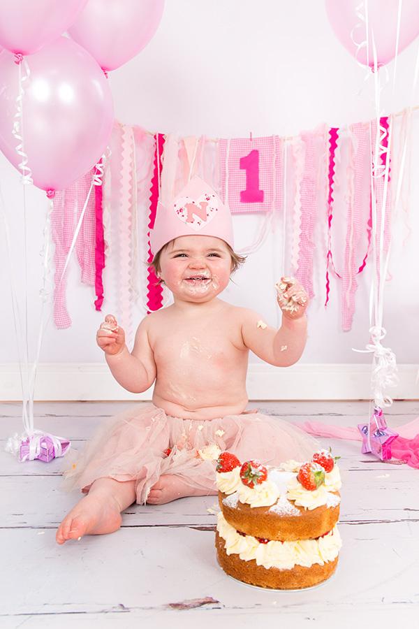 1st Birthday Photoshoot Blossom Lane Photography